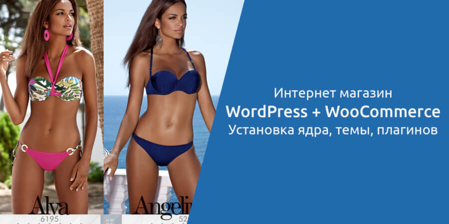 Интернет-магазин на WordPress + WooCommerce: Установка ядра, темы, плагинов