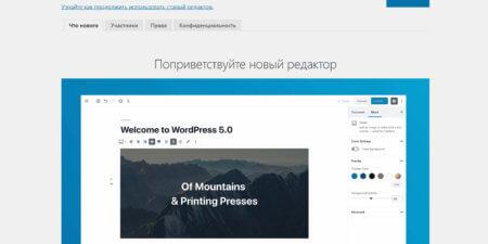 WordPress Gutenberg: самое важное о новом редакторе для WordPress – здесь и сейчас!