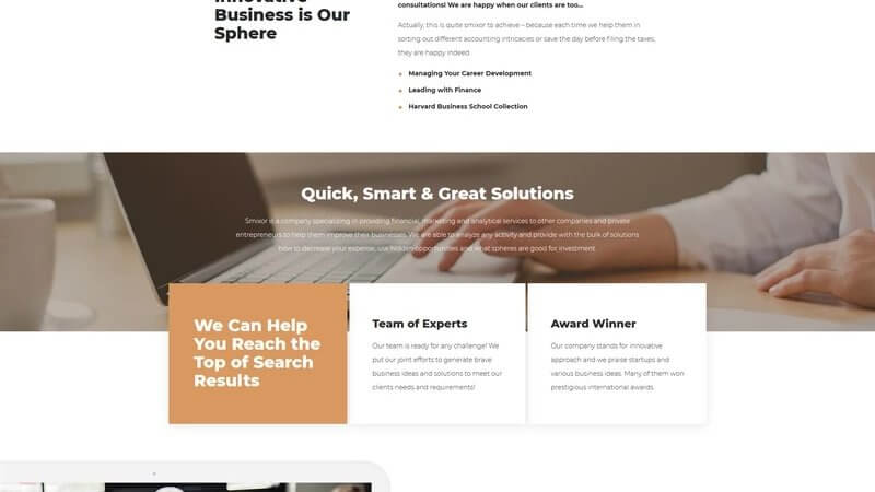 Smixor – Business Multipurpose Modern Elementor